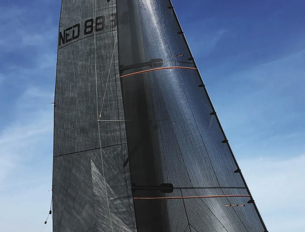 Le tissu carbon sport voile de bateau